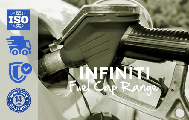 infiniti range locking fuel caps