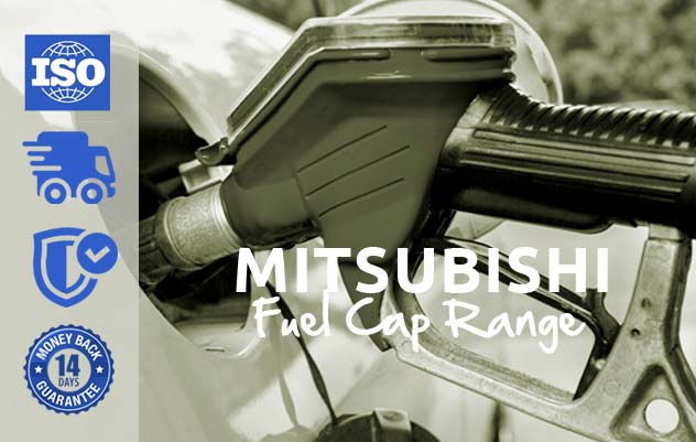 mitsubishi range locking fuel caps