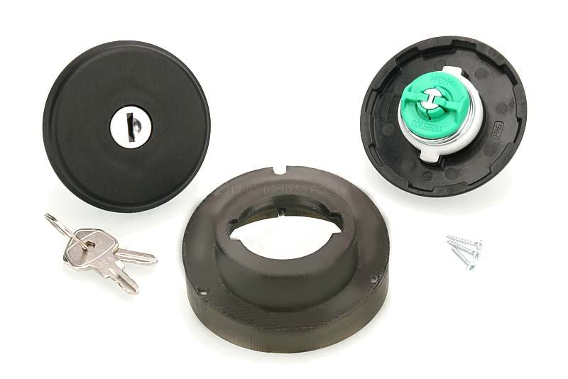 1967 ON From 1967 OE Fit Locking Fuel Cap For Ford Zodiac MK4 Zephir